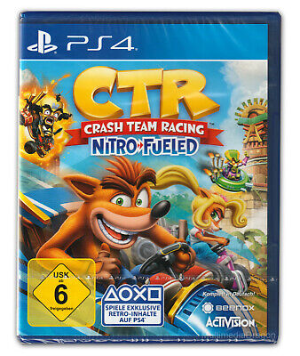 CTR - Crash Team Racing Nitro Fueled PS4 inkl Bonus-DLC* Neu