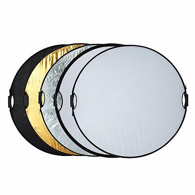 Selens 43'110cm Light Reflector Photography Studio Photo Disc Collapsible 5-in-1