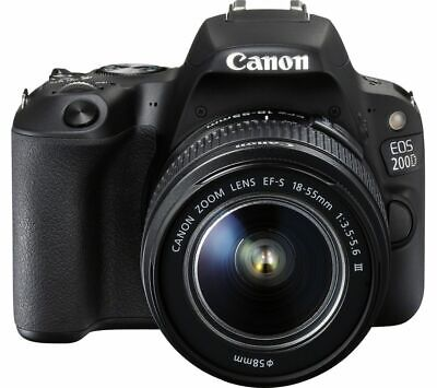 Brand New Canon EOS 200D Camera with EF-S 18-55mm f/4-5.6 IS STM IT*1