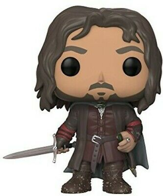 Lord of the Rings - Aragorn - Funko Pop! Movies (2018, Toy NUEVO)