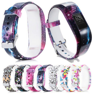 For Garmin VivoFit Jr / Jr 2 Kids' Fitness Replacemet Silicone Watch Band Strap