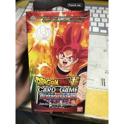 FRANCAIS Dragon Ball Super Card Game ! special pack serie 6 destroyer kings