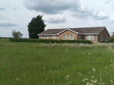 detached 5 bed bungalow in rural location with 10 acres land development farm