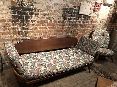 Ercol Day Bed Sofa Vintage Mid Century