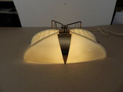 Mid-century Modern BED or WALL LAMP w/neat design 1960's