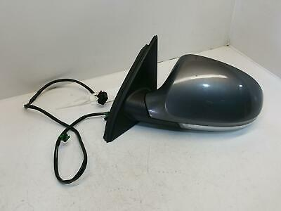7 Passat B6 Passenger N/S Door Mirror In United Grey Electric (Manual Fold)