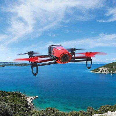 Parrot Bebop Quadcopter Camera Drone 14MP Full HD 1080p RED