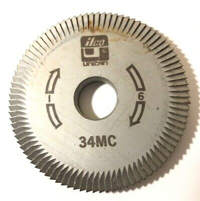 Ilco Key Cutter Wheel 34MC Machine I 6 Free Shipping Unican
