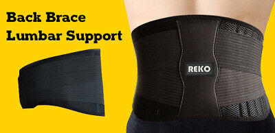 Back Support Belt Lumbar Premium Quality with 3 in features (Limited time offer)