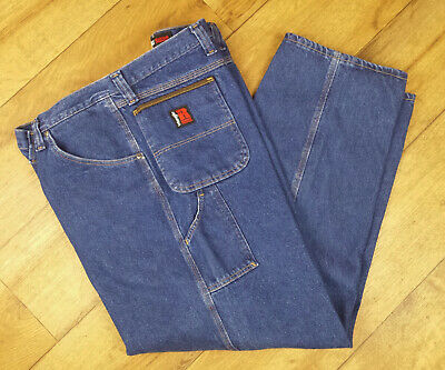 2c925900 Wrangler Riggs Workwear Mens Carpenter Jeans Size 56 X 30 Big And Tall  #3W020Ai