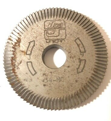 Ilco Key Cutter Wheel 34MC Machine J 9 Free Shipping Unican