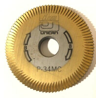 Ilco P-34MC Key Machine Cutter Cutting Wheel Unican B8 Free Shipping