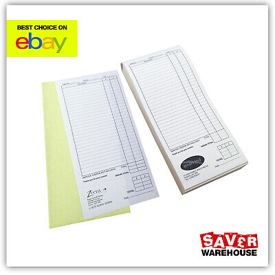 Personalised Order Pads for Restaurants & Takeaways | Printed Duplicate DL NCR