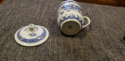 500ml Jingdezhen Shi Pied Magpie Chinese Ceramic Porcelain Tea Mug Cup with lid