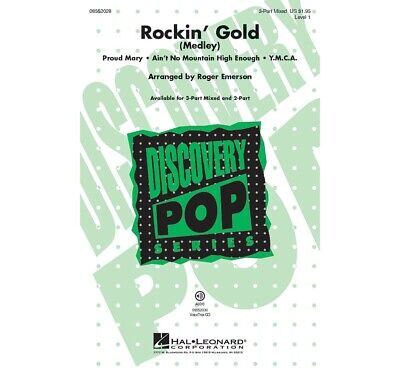 Rockin' Gold (Medley) Discovery Level 1 3-Part Mixed arranged by Roger Emerson