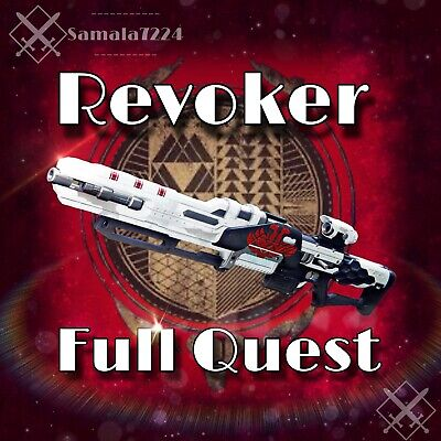 Destiny 2  Revoker (Xbox OnE) Recovery (Full Quest) +3.500 Points (1-2 Days)