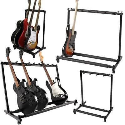 3/5/9 Multiple Foldable Acoustic Electric Guitar Bass Guitar Holder Rack Stand