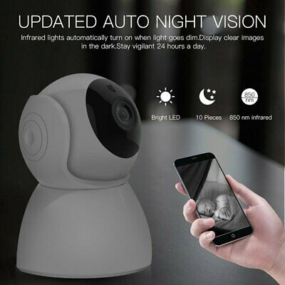 Wireless IP Camera 1080P WiFi Home Security Motion Detection Night Vision Cam
