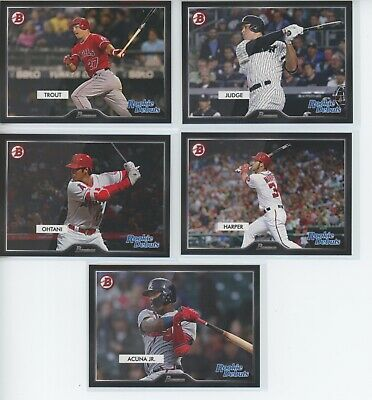 2019 Topps On Demand Set #7 55 Bowman 10 card Rookie Debut SET Trout Jeter Acuna