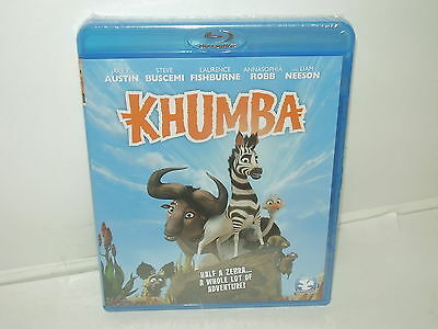 Khumba (Blu-ray, Region A, Canadian, 2014) NEW - With Extras -- No Tax