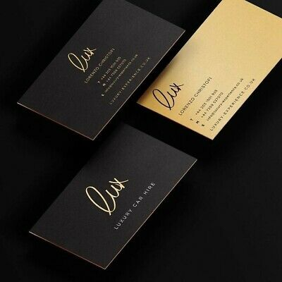 Business Cards - Qty 100 - Double Side - 350 GSM - Non-Laminated