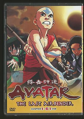 DVD Avatar The Last Airbender Complete Book 1+2+3 (Ep.1-61 end) Box set English