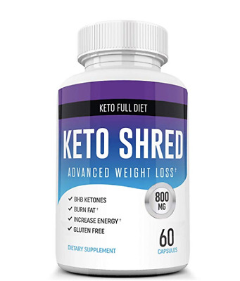 Keto Shred Weight Loss Diet Pills BHB Ketones Lean Fat Burns Supplement Southern