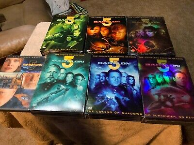 Babylon 5 DVD Complete Series + Movie Collection + Lost Tales, 30 discs in all!