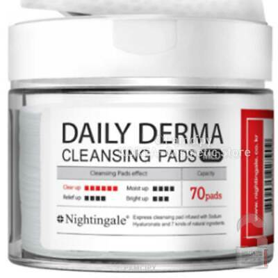 [Nightingale]Daily Derma Cleansing Pads Mild 70Pads/270ml Korea cosmetic KBeauty