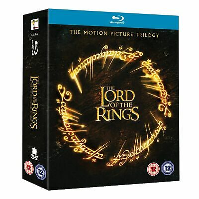 The Lord of the Rings Trilogy Theatrical Edition Region B Blu-ray New