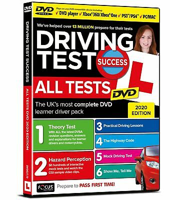 2019- Driving Test Success All Tests DVD Brand New Instructor Pack (20)