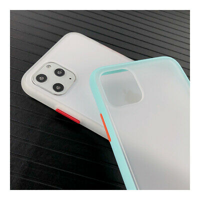 Shockproof Matte Frosted Soft Bumper Hard Back Case Cover For iPhone XS Max XR 8