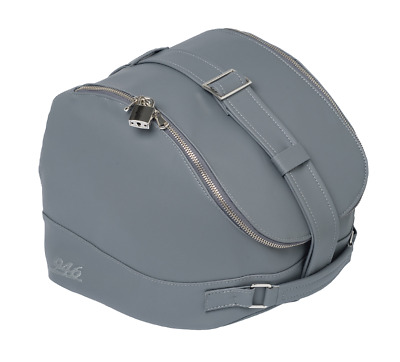 New Genuine Vespa 946 125 / 150 Rear Rack Helmet Bag In Grey