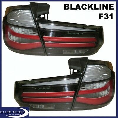 Original BMW M Performance F31 Touring Blackline Heckleuchten Rückleuchten LED