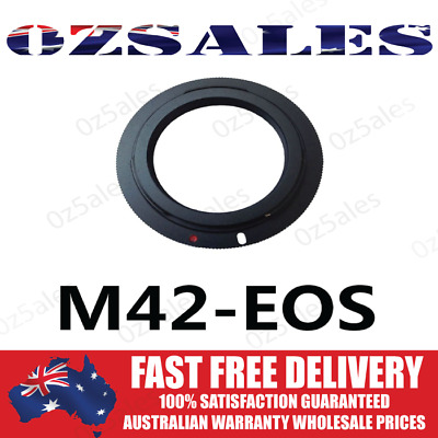 M42 Screw Lens to for Canon EOS EF Camera Mount Adapter M42-EOS 42mm Camera Ring
