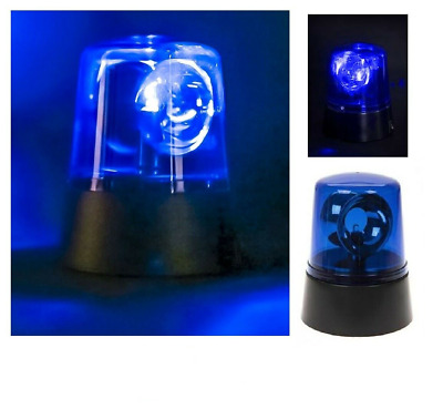 BLUE LED POLICE LIGHT Kids Room  Disco party Stage Autism Toy Christmas Gift UK