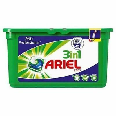 42 Capsules  P&G Professional Ariel 3in1 Pods Regular Liquitabs 42 Washes PACK