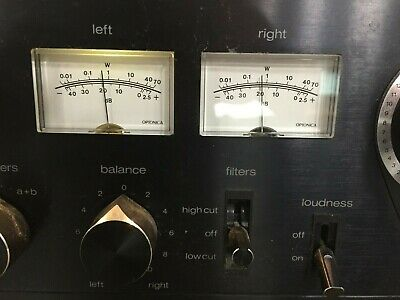 Vintage Sharp OPTONICA SM-3205 Stereo Amplifier 120w *Tested, Fully Functional*