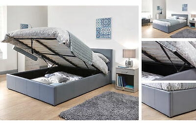 Brilliant Luxury Upholstered End Gas Lift Divan Ottoman Storage Bed Gmtry Best Dining Table And Chair Ideas Images Gmtryco