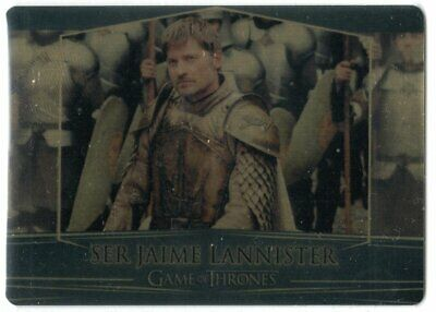 Game Of Thrones Valyrian Steel Se Gold Parallel Base #3 Jaime Lannister 084/100