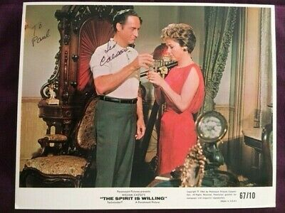 Sid Caesar Comedian Autographed Signed Photo
