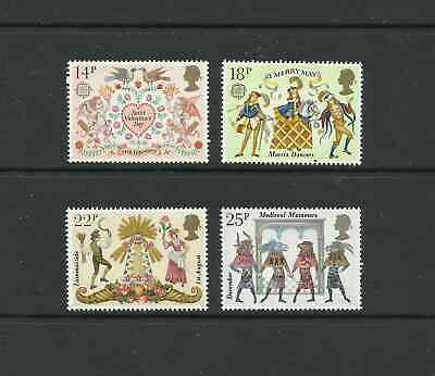 G.B. 1981. Folklore set of 4 stamps. (MNH).
