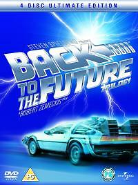 Back To The Future Trilogy (DVD, 2005) 4 Disc Ultimate Edition UK R2
