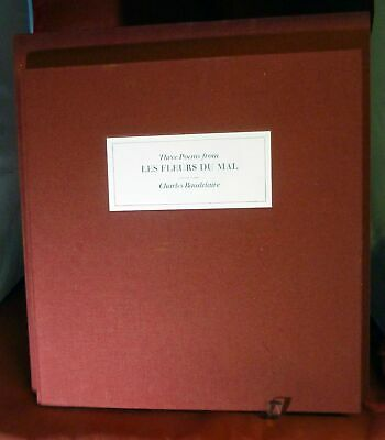 Charles Baudelaire / LIMITED EDITIONS CLUB Three Poems from Les Fleurs Du Mal