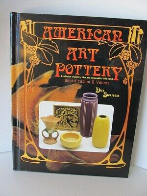 """Book """"American Art Pottery"""", Sigafoose, Identification and Values"""