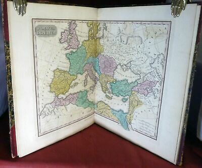 Anthony Finley / Atlas Classica Or Select Maps Of Ancient Geography Both 1827