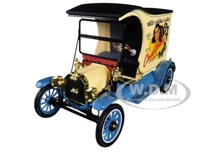 """1917 FORD MODEL T CARGO VAN /""""COCA-COLA/"""" RED 1//24 BY MOTOR CITY CLASSICS 424197"""