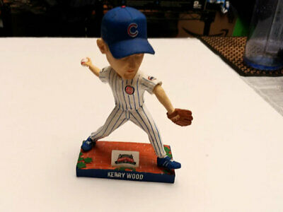2014 Chicago Cubs Wrigley Field Kerry Wood Bobblehead - Used