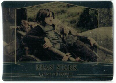 Game Of Thrones Valyrian Steel Se Gold Parallel Base #14 Bran Stark 087/100