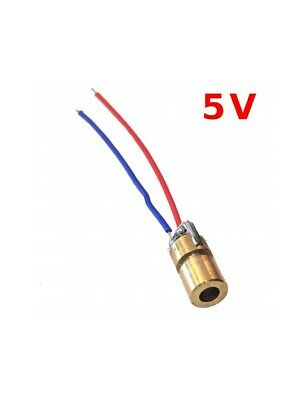 Mini Red Laser 650nm 6mm 5V DC 5mW 1228Z